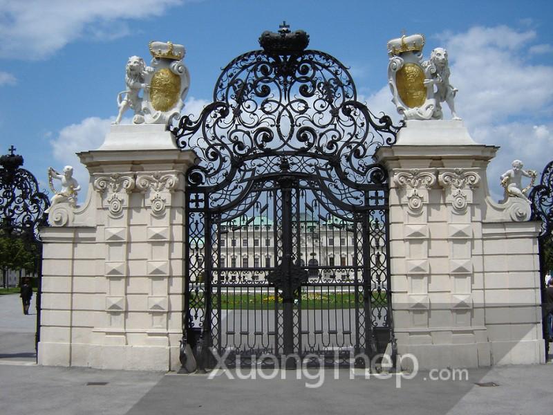 Cửa cổng đẹp và sang bảo vệ tuyệt đối cho ngôi nhà của bạn
